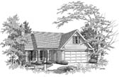 Plan Number 58141 - 1543 Square Feet