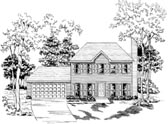 Plan Number 58150 - 1485 Square Feet