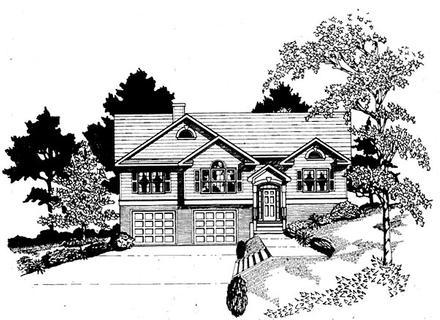 House Plan 58161