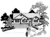 Plan Number 58161 - 1499 Square Feet