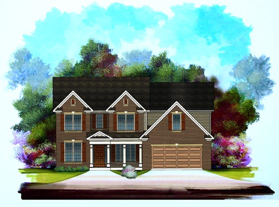 Traditional House Plan 58181 Elevation
