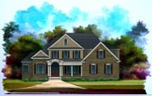 Plan Number 58183 - 3052 Square Feet