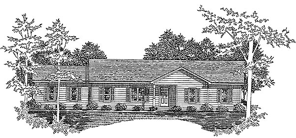 House Plan 58209