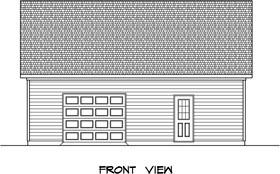 Plan Number 58241 - 922 Square Feet