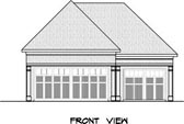 Plan Number 58245 - 840 Square Feet