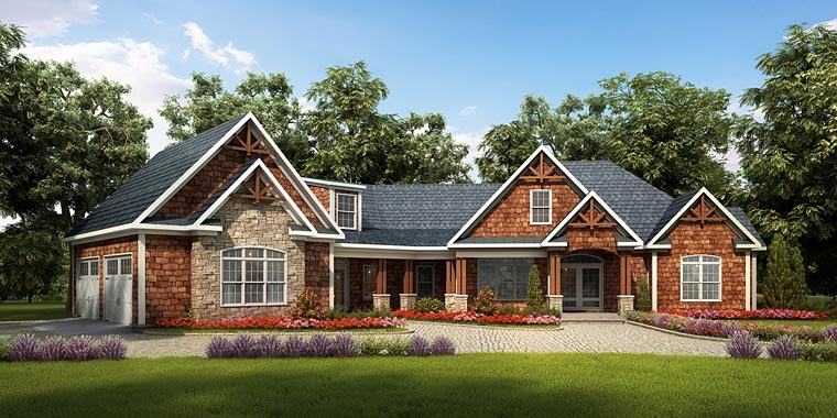 Traditional House Plan 58252
