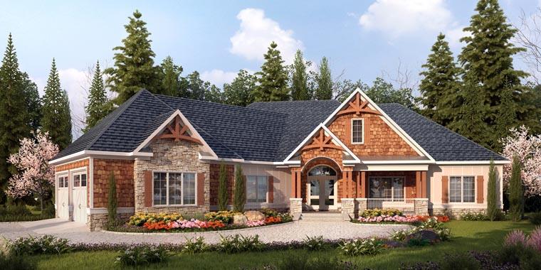 Craftsman House Plan 58253