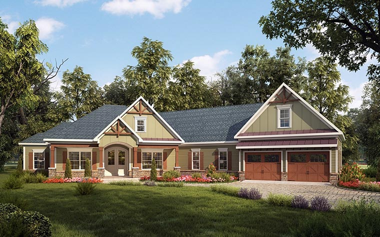 House Plan 58255 At Familyhomeplans.Com