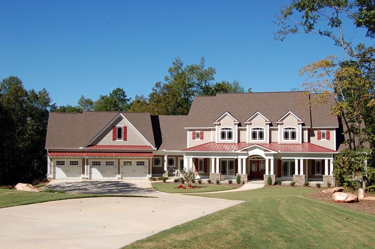 Craftsman Traditional House Plan 58274 Elevation
