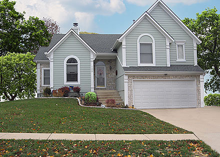 Traditional House Plan 58402 with 4 Beds, 3 Baths, 2 Car Garage