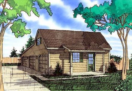 Garage Plan 58419