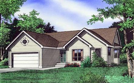 House Plan 58423