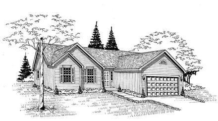 House Plan 58425