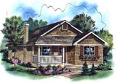 Plan Number 58503 - 1112 Square Feet