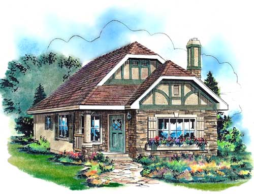 House Plan 58510, Order Code 03WEB at FamilyHomePlans.com