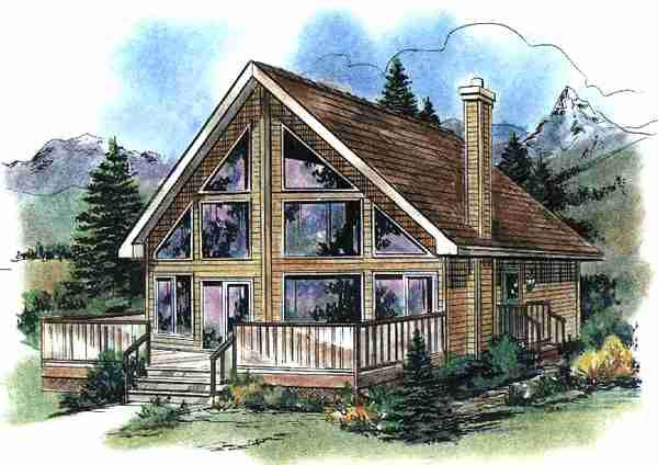 House plan 58540 at for Www familyhomeplans com