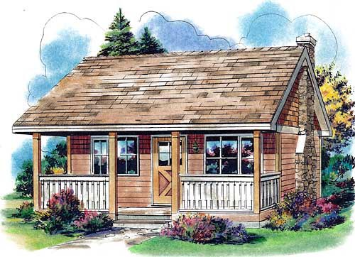 Country House Plan 58559 Elevation