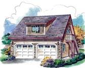 Garage Plan 58563