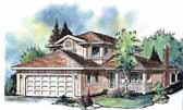 Plan Number 58601 - 1515 Square Feet