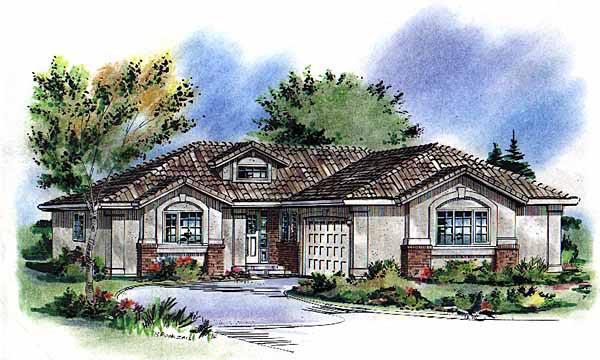 Florida House Plan 58790 Elevation