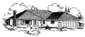 Plan Number 58809 - 1488 Square Feet