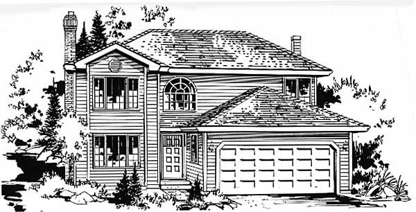 Traditional House Plan 58866 Elevation