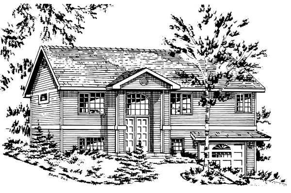 Ranch House Plan 58886 Elevation