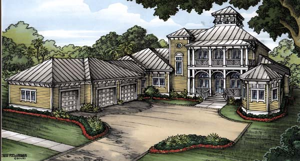 Florida House Plan 58905 Elevation