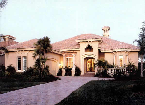 Florida House Plan 58910 Elevation