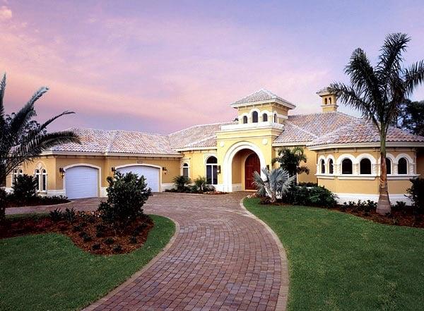 Florida House Plan 58911 Elevation