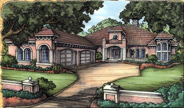 Florida House Plan 58922 Elevation