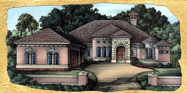 Florida House Plan 58923 Elevation