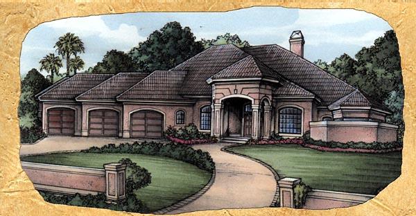 OneStory House Plan 58926