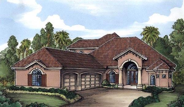 Florida House Plan 58927 Elevation