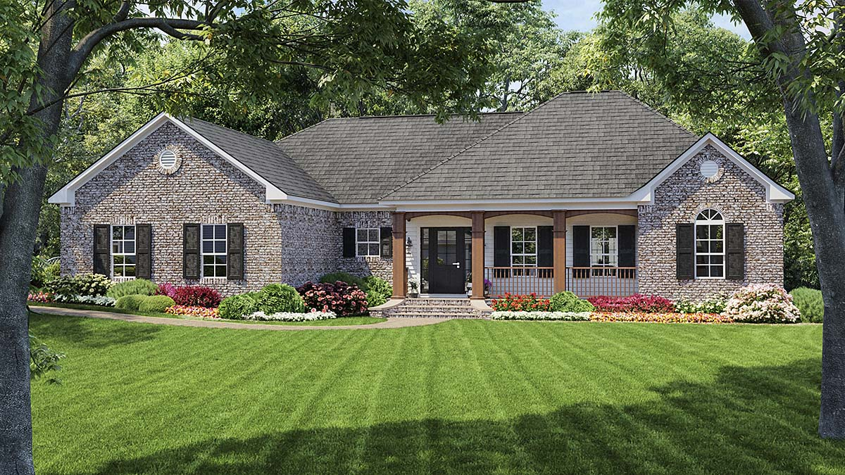 Traditional House Plan 59009