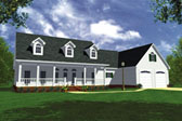 Plan Number 59018 - 1852 Square Feet