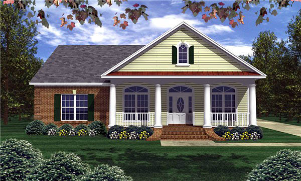 Traditional House Plan 59022