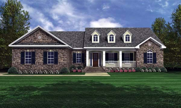 House Plan 59024 At Familyhomeplans.Com