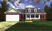 Plan Number 59051 - 1501 Square Feet