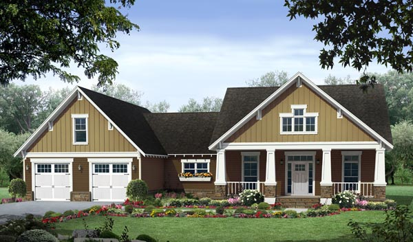 Craftsman House Plan 59054
