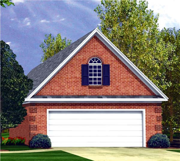 Traditional Garage Plan 59076 Elevation