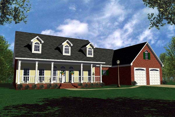 Traditional House Plan 59107