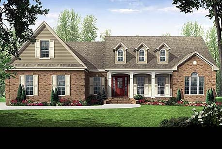 House plans at family home plans for Family home plans 82230