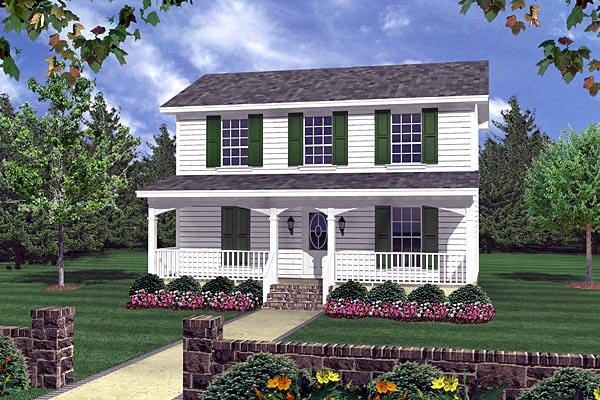 Country Southern Traditional House Plan 59120 Elevation