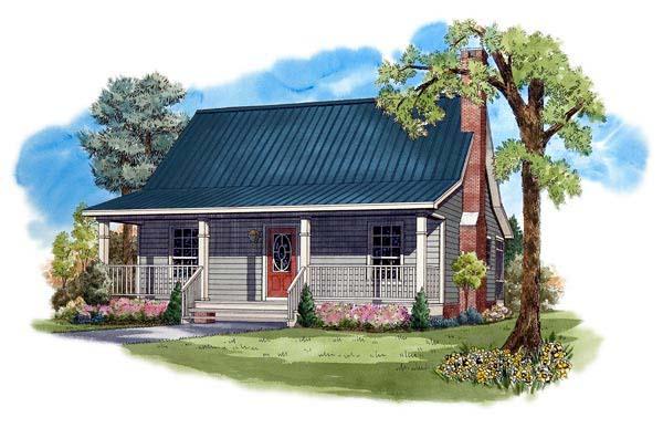 Farmhouse House Plan 59122