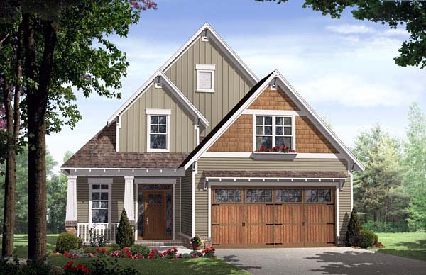 Craftsman House Plan 59154