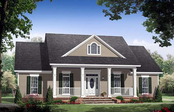 Traditional House Plan 59155