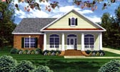Plan Number 59156 - 2050 Square Feet