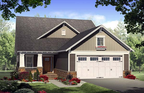 House Plan 59168 at FamilyHomePlans.com