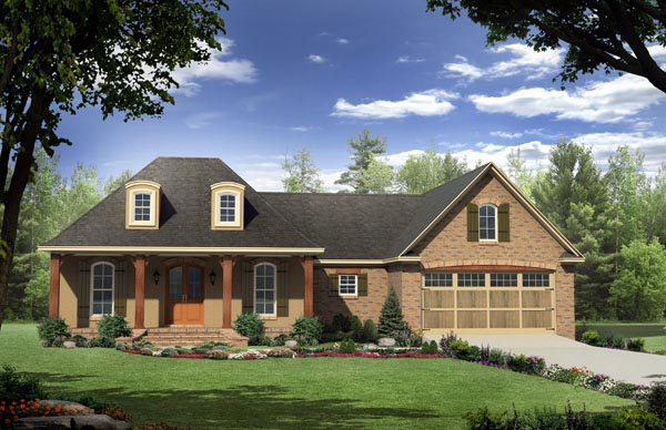 Country European French Country Traditional House Plan 59183 Elevation